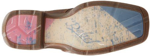 Durango Rebel Pull On Large Cuir Santiags Brown Multi