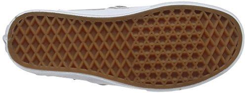 Vans Damen Asher Sneakers Silver (Textile - Silver/White)
