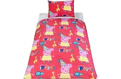 Peppa Pig Funfair Bedding Set - Toddler. - cheap UK light shop.
