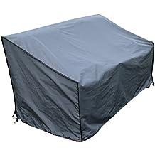 Funda / Cover / Protectora para Sofá   86 x 178 x 90/61 cm (L x A x A)   Gris   Impermeable   SORARA   Poliéster (UV 50+)   Para exterior Muebles de Jardín, Terraza, Patio