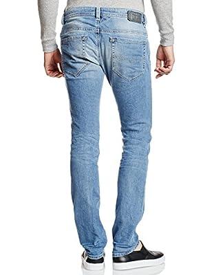 Diesel Men's Thavar Pantaloni Skinny Jeans, 842H