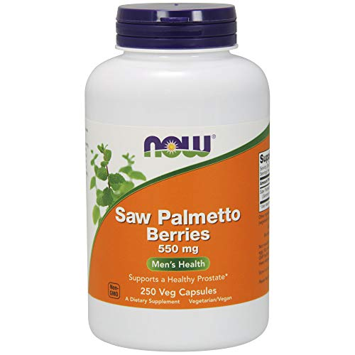 Now Foods Saw Palmetto Berries (Sägepalme) 550mg,250 vegane Kapseln