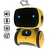 GILOBABY Smart Roboter Spielzeug für Kinder,Touch funktions Roboter mit Spracher kennungs Funktion, Elektronisches Roboter Spielzeug mit Tanz und Musik und Gehen, Geschenke für Jungen / Mädchen