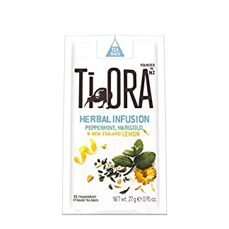 Ti-Ora-Herbal-Infusion-Peppermint-New-Zealand-Lemon-Pfefferminztee-4er-Pack-4-x-15-Teebeutel-Krutertee