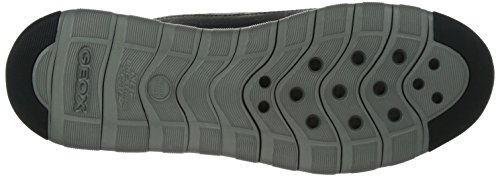 Geox U Xunday 2fit C, Baskets Basses homme Noir - Schwarz (BLACK/GREYC0017)