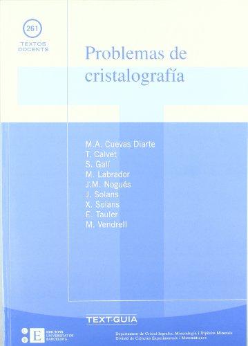 Problemas De Cristalografia (2 por Salvador Galí Medina