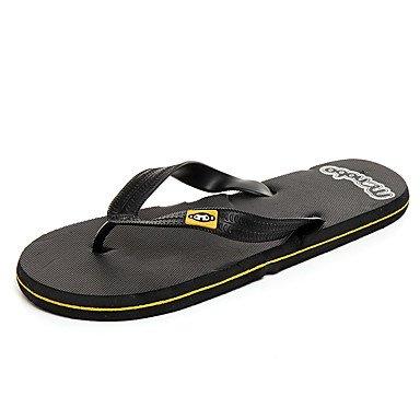 Slippers & amp da uomo;Primavera Estate Comfort PVC Ufficio & amp esterna;Carriera Casual Heel piatto N sandali US10 / EU43 / UK9 / CN44