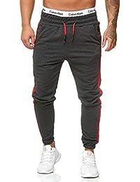 OneRedox Herren Jogging Hose Jogger Streetwear Sporthose Modell 1211