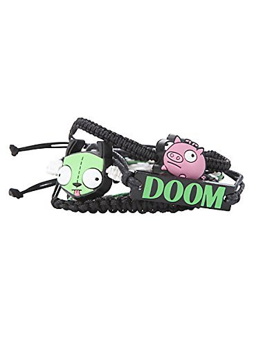 invader-zim-doom-gir-piggy-arm-party-5-pack-bracelet-set-by-nickelodeon