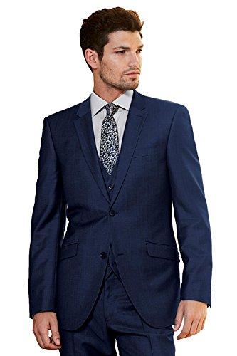 �cke Hochzeit Anzüge für Männer Business Männer Anzüge Bräutigam Smoking (Kundenspezifische Geschenk-taschen)
