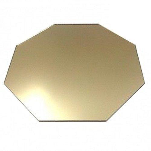 Super Cool Creations 4Octogonal Bronce Espejo acrílico