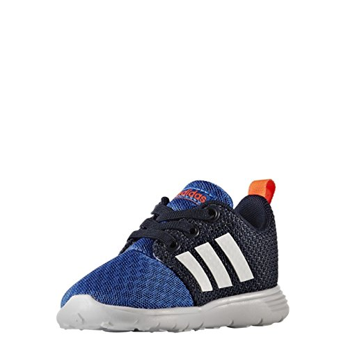 adidas Swifty Inf, Chaussures de Tennis Mixte Enfant Bleu (Azul/ftwbla/maruni)