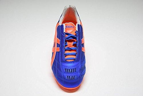 Asics , Chaussures de foot pour homme MARINE BLUE/FLASH ORANGE/SILVER MARINE BLUE/FLASH ORANGE/SILVER