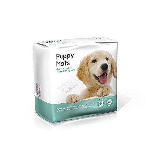 Puppy Mats–Super saugfähig Puppy Training Pads (100Stück) (Training Pads Saugfähige)