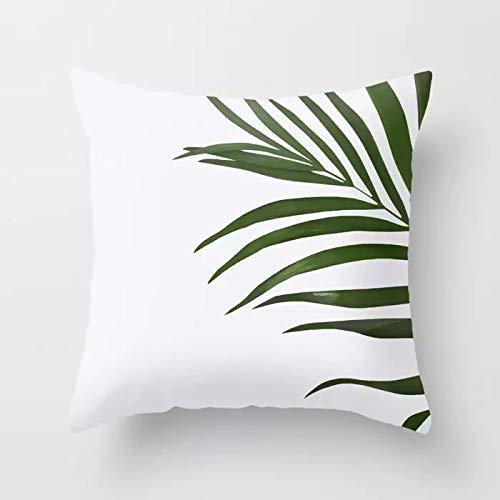 CHJTKDT Kissenbezug Tropische Dekoration Druck Kaktus Kissenbezug Polyester Grün Wurfkissen Für Sofa/Home Dekorative KissenbezugDrd9-5