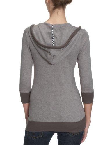 O'Neill Laconia Femme T-shirt à manches longues pour femme Gris - Vert olive