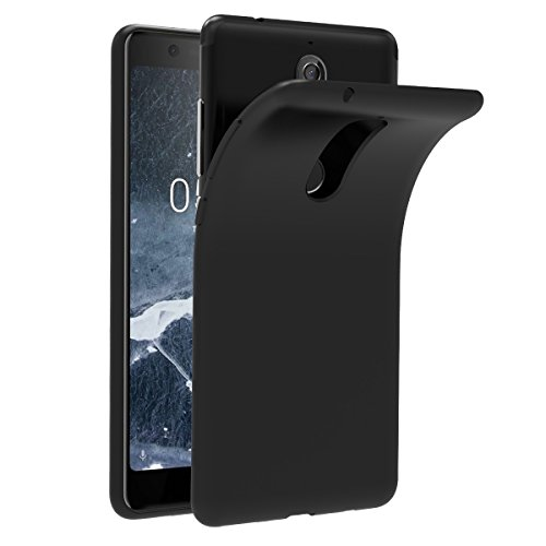 iVoler Hülle für Nokia 5.1 / Nokia 5 2018, Premium Schwarz Tasche Schutzhülle Weiche TPU Silikon Gel Schutzhülle Case Cover für Nokia 5.1 / Nokia 5 2018