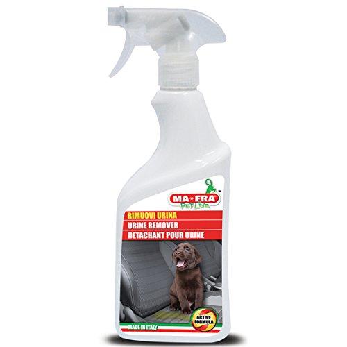 Ma-Fra, Spray Rimuovi Urina e Cattivi Odori, Ideale per Lettiere, Adatto su Tutte Le Superfici, Lunga Durata, 500 ml