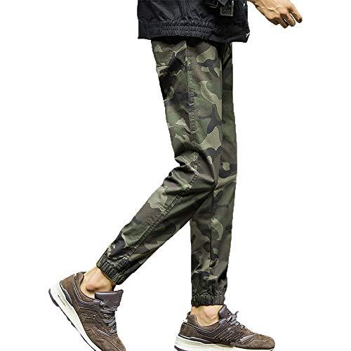 serliy Mens Fashion Camouflage Neun Punkte Kleine Füße Looser Casual Pant Langarm Tragen Lässige...