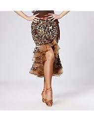 Latina de las señoras falda de la danza , leopard , s