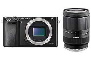 Sony α6000 + Tamron 18 - 200mm MILC 24.3MP CMOS 6000 x 4000pixels Black - digital cameras (MILC, 24.3 MP, CMOS, 6000 x 4000 pixels, 6000 x 4000 6000 x 3376 4240 x 2832 4240 x 2400 3008 x 2000 3008 x 1688, JPG)