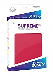 Ultimate Guard ugd010544 - Supreme UX Sleeves, tamaño estándar, Color Rojo