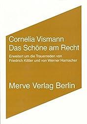 Das Schöne am Recht: Erweitert um die Trauerreden von Friedrich Kittler und von Werner Hamacher (IMD)