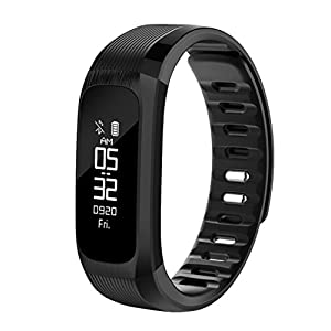 'Fitness Tracker Smart Wrist Watch U Watch Phone Mate For IOS Android Vneirw UP9 0.87 Colour Display Sports Watch Smart Watch with Waterproof Heart Rate Monitor/Pedometer/Sleep/Calorie