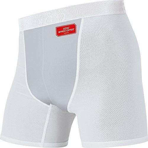 GORE RUNNING WEAR Herren Boxer-Shorts, Stretch, GORE WINDSTOPPER, ESSENTIAL Boxer, UWESSB light grey/Titan