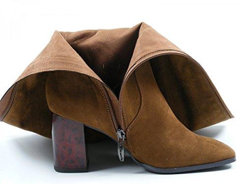 Tamaris 1-25517-27 Schuhe Damen Stiefel Stiefeletten Ankle Boots Braun