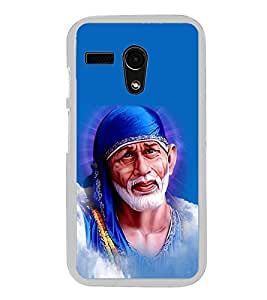 Sai Baba Sai Ram 2D Hard Polycarbonate Designer Back Case Cover for Moto G Turbo Edition :: Moto G Turbo (Virat Kohli Edition)