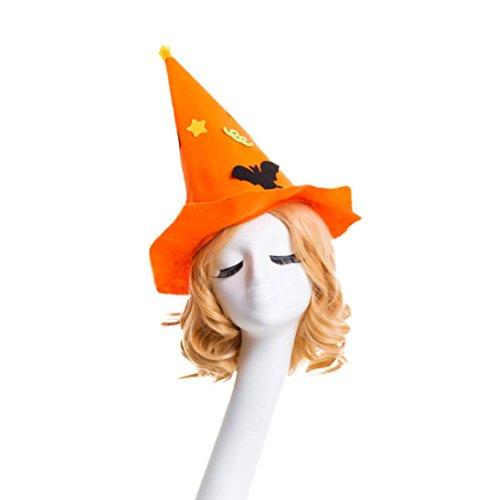Ratte Kostüm Gesicht (JIANGFU Halloween-Hut,Mode Maskerade Hexe Hut Halloween Hut Parteien Karneval Party Dekorativ)
