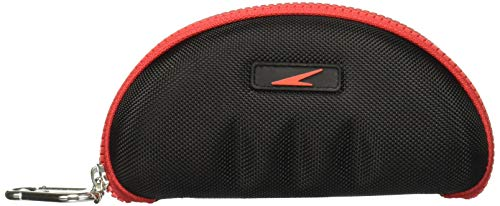 Speedo Hard Cover Swim Goggle Case Holder Durable Construction Protects Against Durable Hard Case