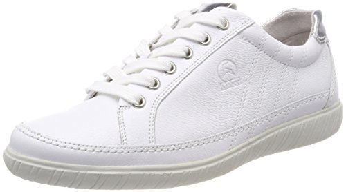 Gabor Shoes Damen Comfort Basic Derbys, (Weiss/Argento), 37.5 EU