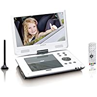 "Lenco DVP-1063WH Portable DVD player Convertible 10"" Grey,Silver portable DVD/Blu-Ray player - portable DVD/Blu-Ray players (25.4 cm (10""), TFT, 16:9, 180°, H.265, MP3) - Trova i prezzi più bassi su tvhomecinemaprezzi.eu"