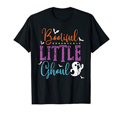 Themen Fun Kostüm Familien - Boo-tiful kleines Ghul-Halloween-Kostüm-Geist-Kinder T-Shirt