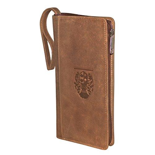 0bc2364d25a9 Style98 100% Leather Passport Holder||Passport Wallet||Chequebook  Holder||Boarding Pass Holder||Credit Card Holder||Travel Organizer Wallet  for ...