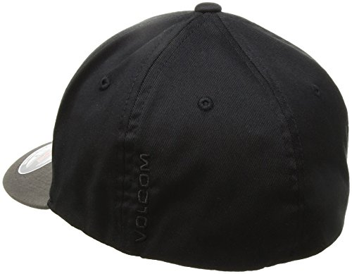 Volcom Unisex Cap Full Stone Xfit schwarz grau