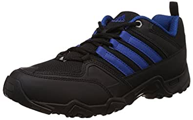 Adidas Men's Glimph Black and Blue Multisport Training Shoes - 12 UK