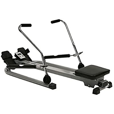 Charles Bentley Fitness Twin Dual Hydraulic Rowing Machine Cardio Gym Exercise Weight loss by Charles Bentley