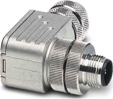 Connecteur M12 mâle coudé 5 pôles pour capteur/actionneur 60 V - 4 A Phoenix Contact SACC-M12MR-5CON-PG 9-SH 1694282