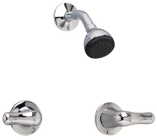American Standard 3275.501.002 Colony Soft Double-Handle Shower Fitting with Metal Handles, Chrome by American Standard (American Standard-soft)