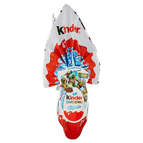 Kinder GranSorpresa - Uovo di Cioccolato TARTARUGHE NINJA ALLA RISCOSSA - 320 GR
