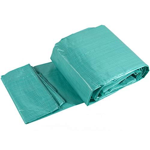 Gewebeplane LKW regendichtes Tuch Doppel grün kunststoffbeschichtetes Tuch Anti-Milben-Tuch Kaltes Tuch Autoplane, Verschiedene Größen für Gartenbereich UV-Stabilisiert (Size : 8m*12m)