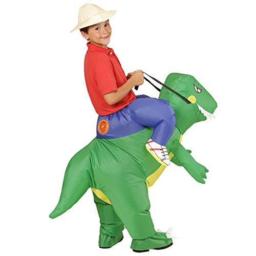 Widmann - Aufblasbares Kostüm Dinosaurier