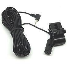 yihaoel Micrófono Radio de coche reproductor de CD estéreo Bluetooth para Pioneer sph-da120