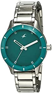 Fastrack Analog Green Dial Women's Watch-NL6078SM01