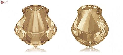 Crystals Swarovski Elements Fancy Stones 4789 MM 14,0 F - Crystal F (001) ; contenu de paquet:1 ; mm de longueur:14 : mm de largeur: 14 Crystal Golden Shadow (001 GSHA)