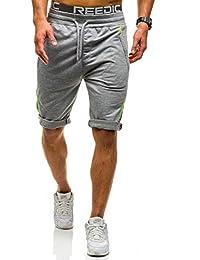BOLF Herren Shorts Bermudas Kurzhose Fitness Jogginghose Sporthose 7G7 Motiv