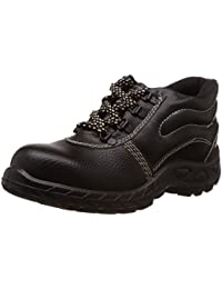 Safari Pro Booster Gold PVC Safety Shoes Steel Toe (Size 9)
